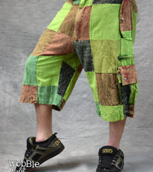 Patchstone Shorts Green