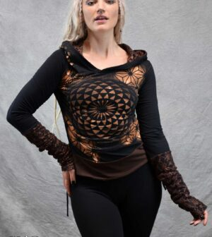 Gaia Jumper Black