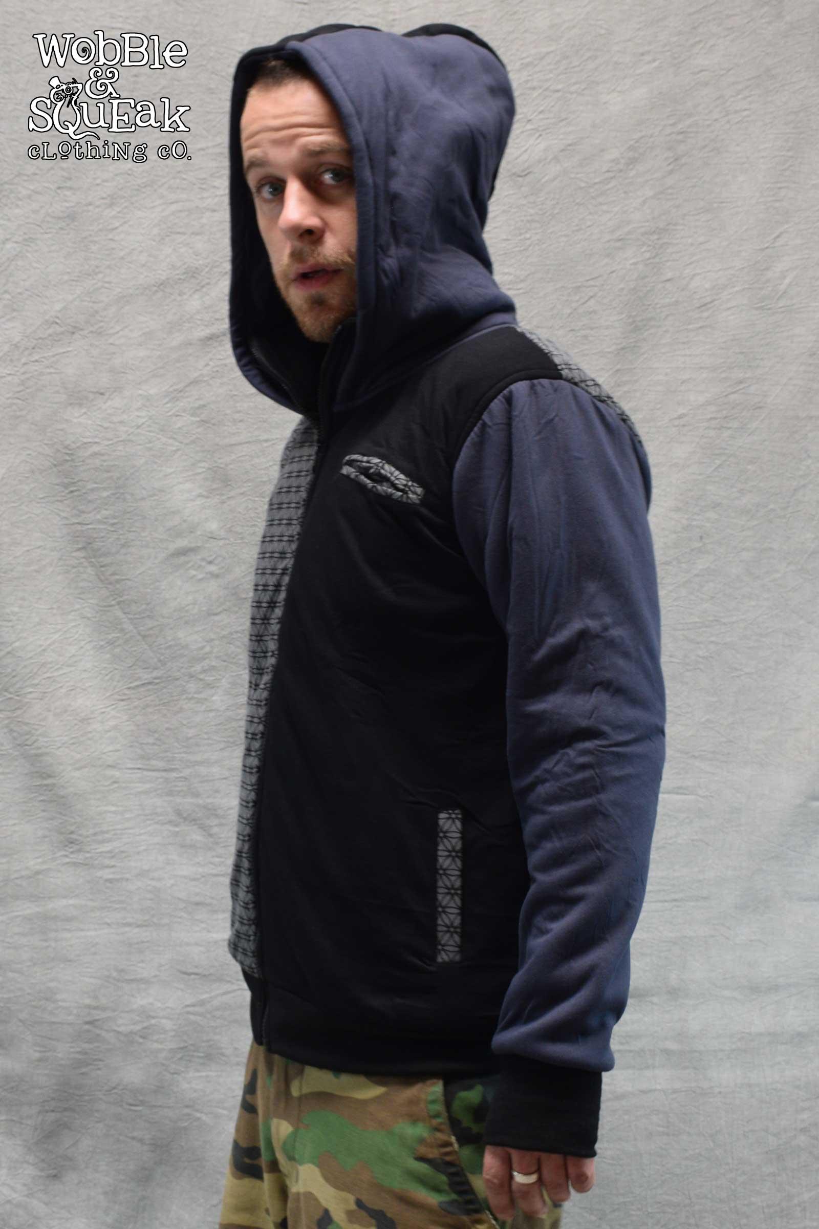 Hex Jacket Grey