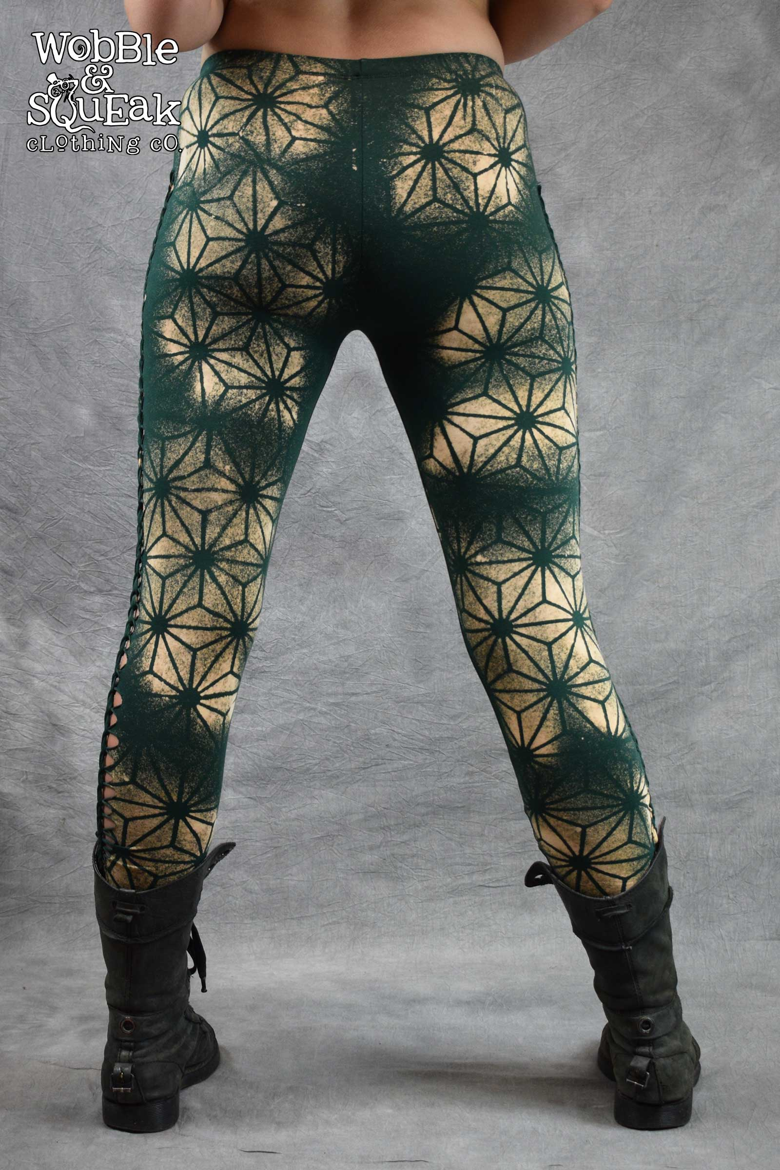 GeoFlame Leggings Forest