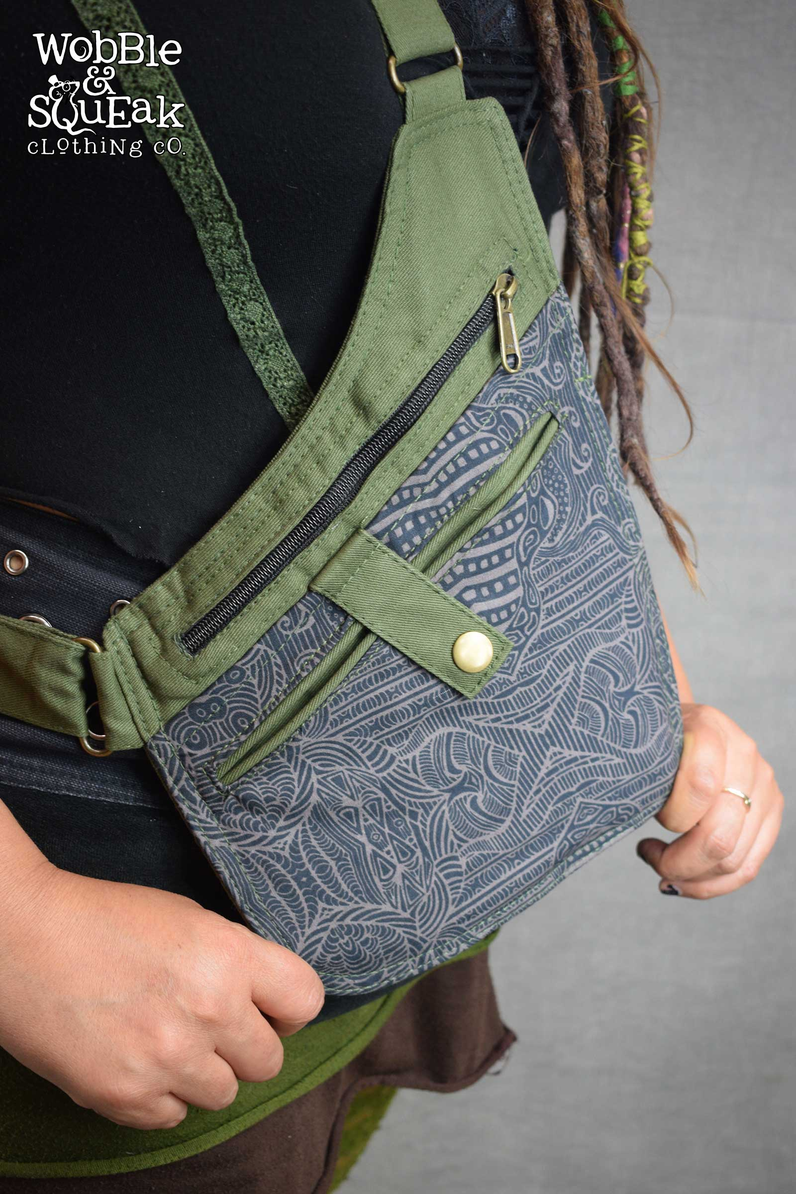 Holster Pockets Green