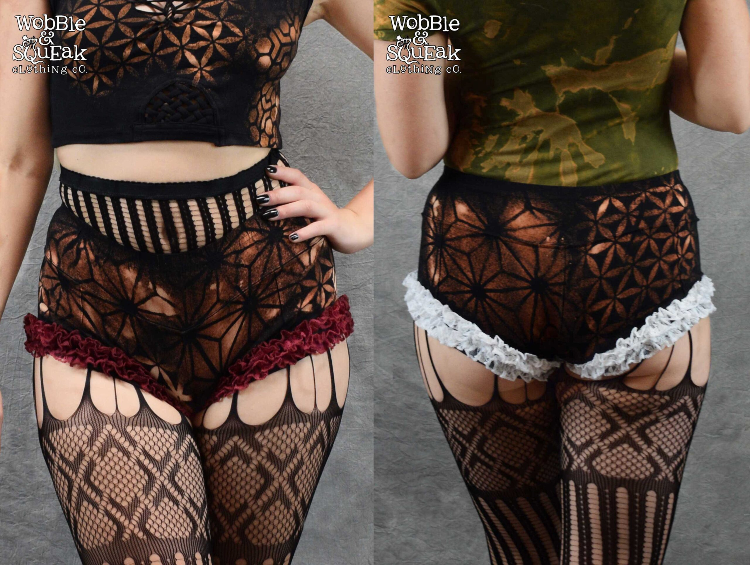 Circus Lace Hot Pants