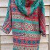 Himachal Hooded Cardigan Green