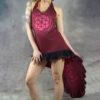 Chakra Flamenco Dress Red