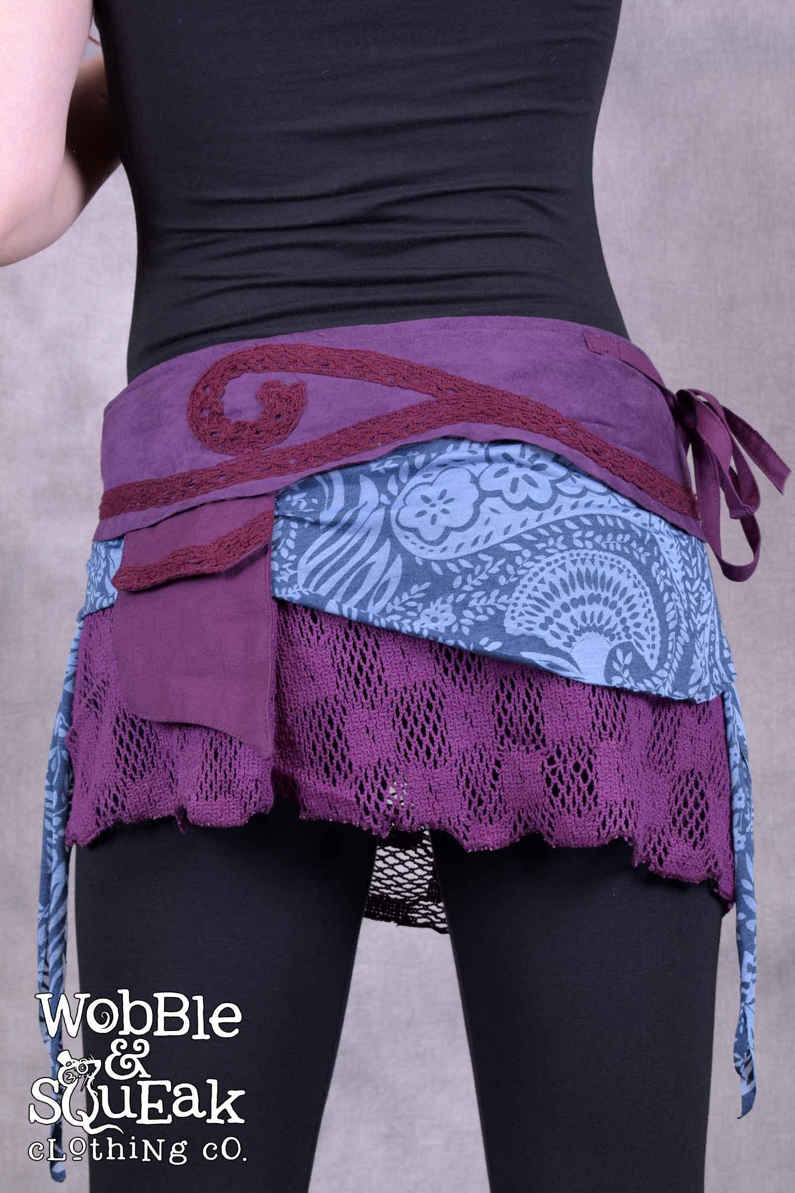 Giri Skirt Purple