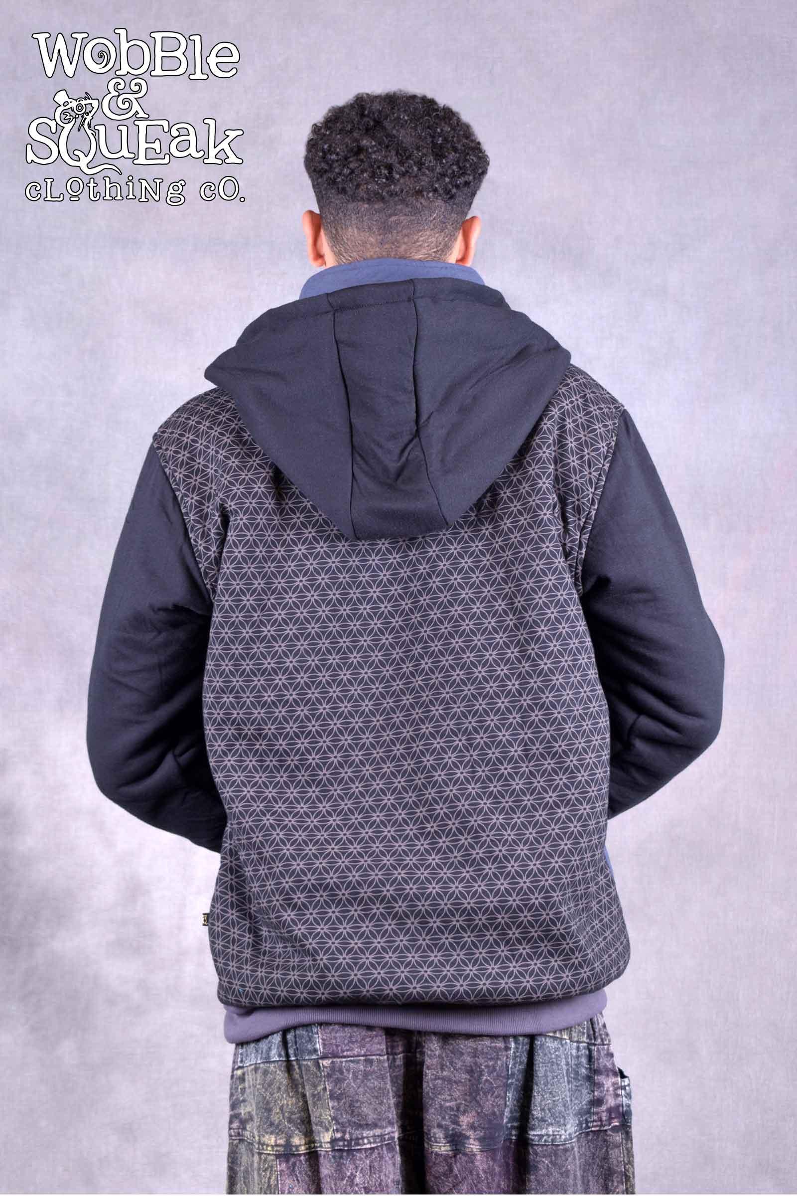 Hex Jacket Black